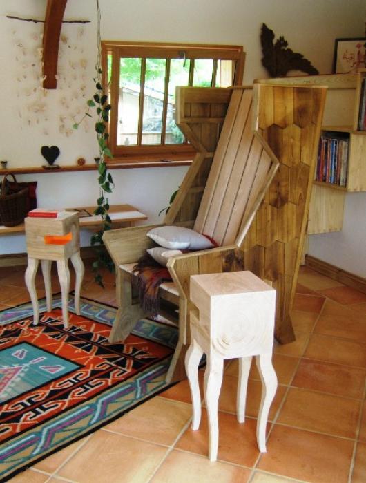 ebeniste chataignier au fil du bois. Black Bedroom Furniture Sets. Home Design Ideas